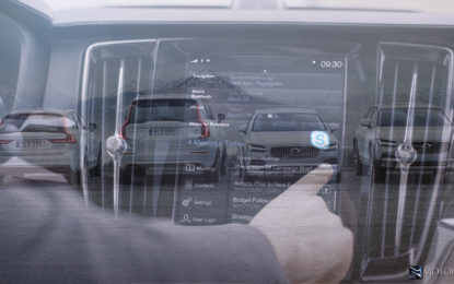 Sulla Volvo Serie 90 arriva Skype for Business