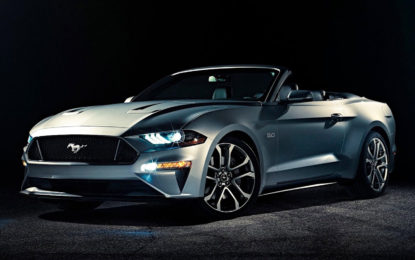 Ford Mustang Convertible MY 2018: American beauty