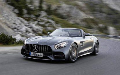 Mercedes AMG GT e GT C Roadster: Forti emozioni open air
