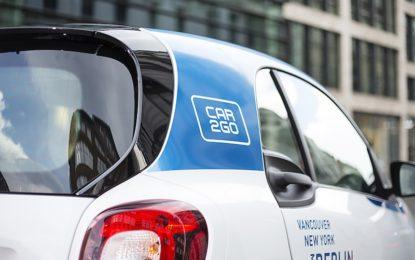 Car Sharing assicurato al minuto