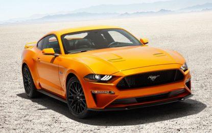 Ford Mustang MY 2018: 10 marce e più cavalli