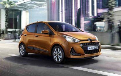 Hyundai i10 rinfrescata e aggiornata