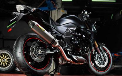 Akrapovic per i nuovi modelli Kawasaki Z