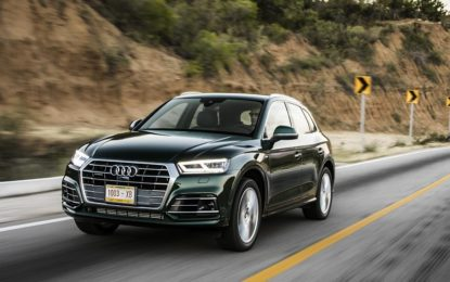 "Audi Q5 2.0 TDI 150 CV: Debuttano la 2.0 TDI e la ""S line black"""