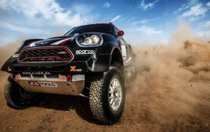 MINI John Cooper Works Rally. La sfida Dakar 2017