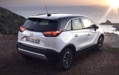 Opel Crossland X, SUV e Crossover: il meglio dei due mondi