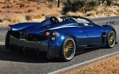 Pagani Huayra Roadster: Elogio della bellezza open air