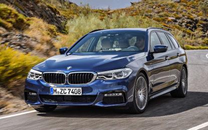 Nuova BMW Serie 5 Touring: Evoluzione eccellente [VIDEO]