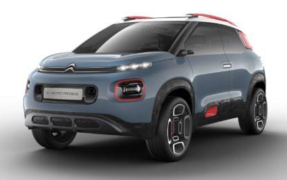 Citroen C-Aircross Concept: Baby SUV d'avanguardia