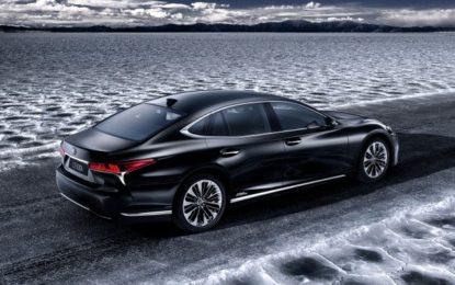 Lexus LS500h: l'ammiraglia ibrida 2018