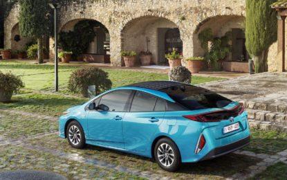 Toyota Prius Plug-in Hybrid: forza alla seconda