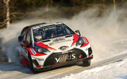 Rally di Svezia WRC: vince Toyota dopo 18 anni