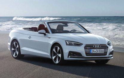 Audi A5 Cabriolet: Nuove motorizzazioni TDI