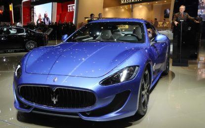 Maserati: a Ginevra debuttano GranTurismo e GranCabrio Special Edition