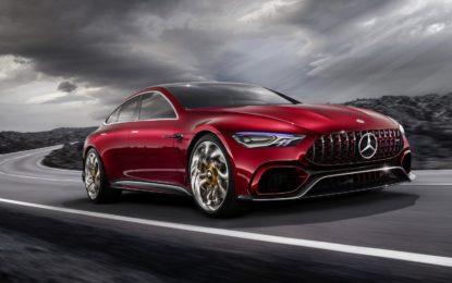 Mercedes AMG GT Concept: Prova d'autore da Formula 1