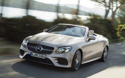 Nuova Mercedes-Benz Classe E Cabrio: a cielo aperto in una Stella