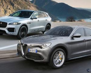 Confronto Alfa Romeo Stelvio 2.2 D – Jaguar F-Pace 2.0 D 180 CV