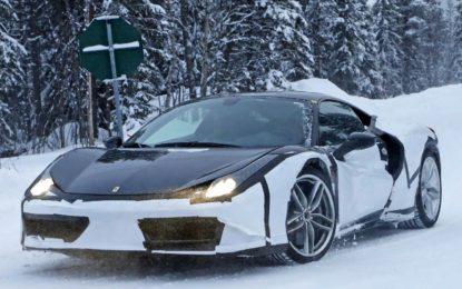 Ferrari Dino: avvistato il muletto della futura baby Ferrari