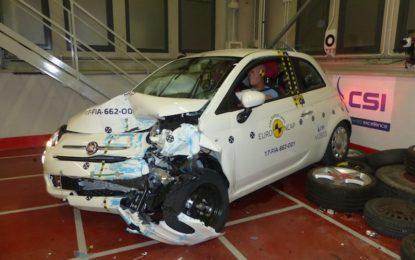 Euro NCAP: Fiat 500 arriva solo a tre stelle