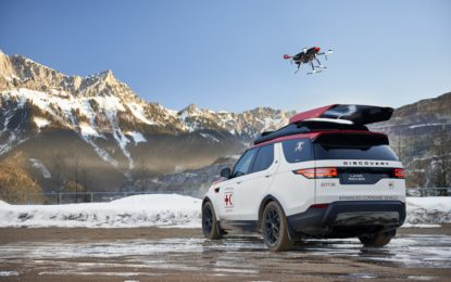 Project Hero: la Land Rover Discovery con Drone pronto intervento
