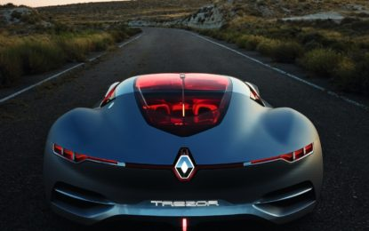 """Renault TREZOR eletta """"concept car"""" dell'anno"""