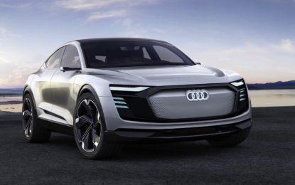 Audi e-tron Sportback Concept: Il futuro è oggi