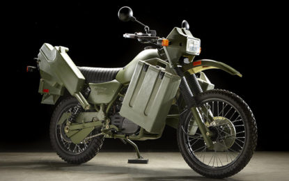 Harley-Davidson MT500 militare: rarità all'asta a Las Vegas
