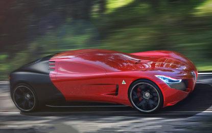 Alfa Romeo C18: sportiva virtuale
