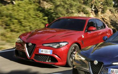 Alfa Romeo Giulia Quadrifoglio: Due cambi, due filosofie di pensiero