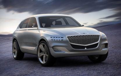 Genesis GV80 Fuel Cell SUV Concept | cambio di passo