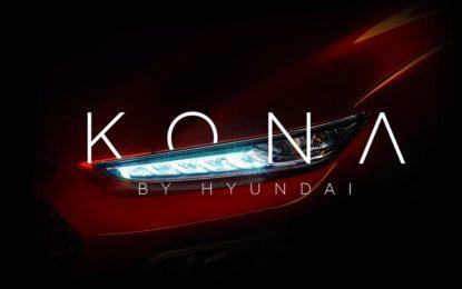 Hyundai Kona: il nuovo B-SUV svelato con un teaser