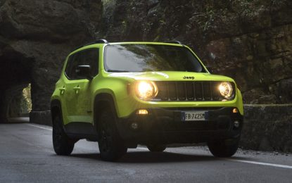 Jeep Renegade Upland Special Edition: impronta sportiva e look off-road