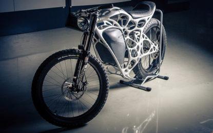 """Light Rider: la moto 3D più """"ecosostenibile"""" al mondo"""