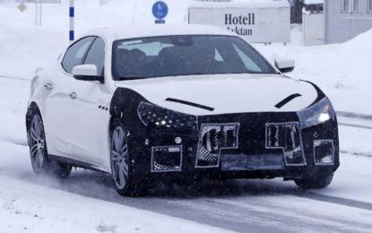 Anteprima Maserati Ghibli: Restyling di metà carriera