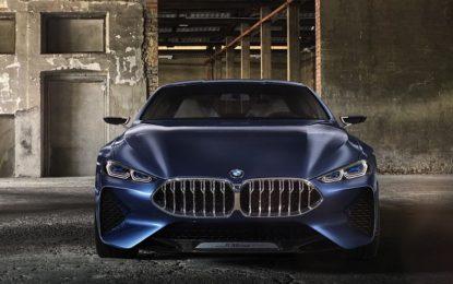 BMW Serie 8 Coupé Concept: debutto a Villa d'Este