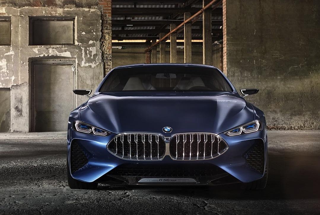 Le prime immagini del concept BMW Serie 8