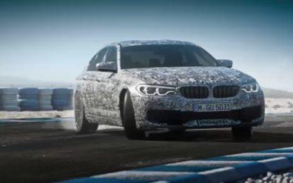 Anteprima BMW M5: svolta integrale | Video