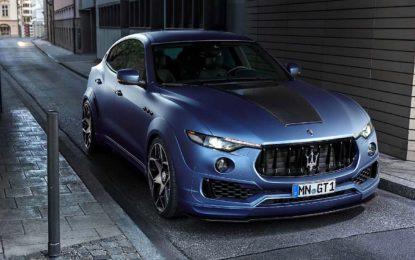 Maserati Levante Esteso by Novitec: Tridente rampante