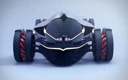 Tesla T1 Concept: il futuro delle corse