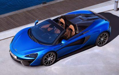 McLaren 570S Spider: emozioni forti a cielo aperto