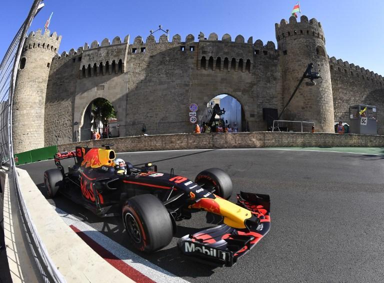 F1, GP Azerbaijan - Hamilton: