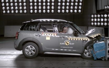 EuroNCAP: quarta serie di test sicurezza 2017 | Video |