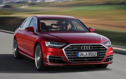 Nuova Audi A8: l'auto del futuro è già qui. E guida da sola