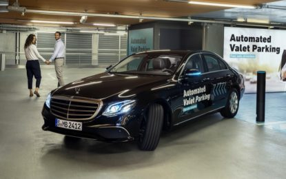 Con Bosch e Daimler il parcheggio autonomo è quasi realtà