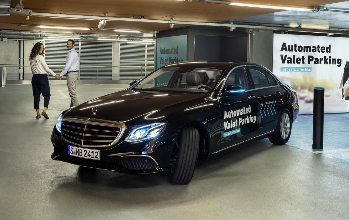 Con bosch e daimler il parcheggio autonomo quasi realt for Garage autonomo