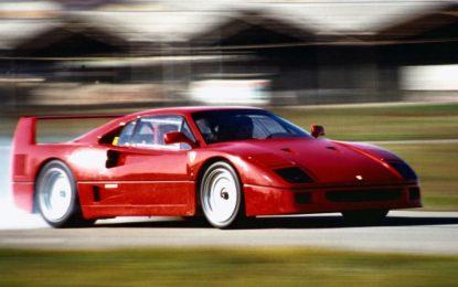 Ferrari F40 compie 30 anni. E rimane un mito indelebile
