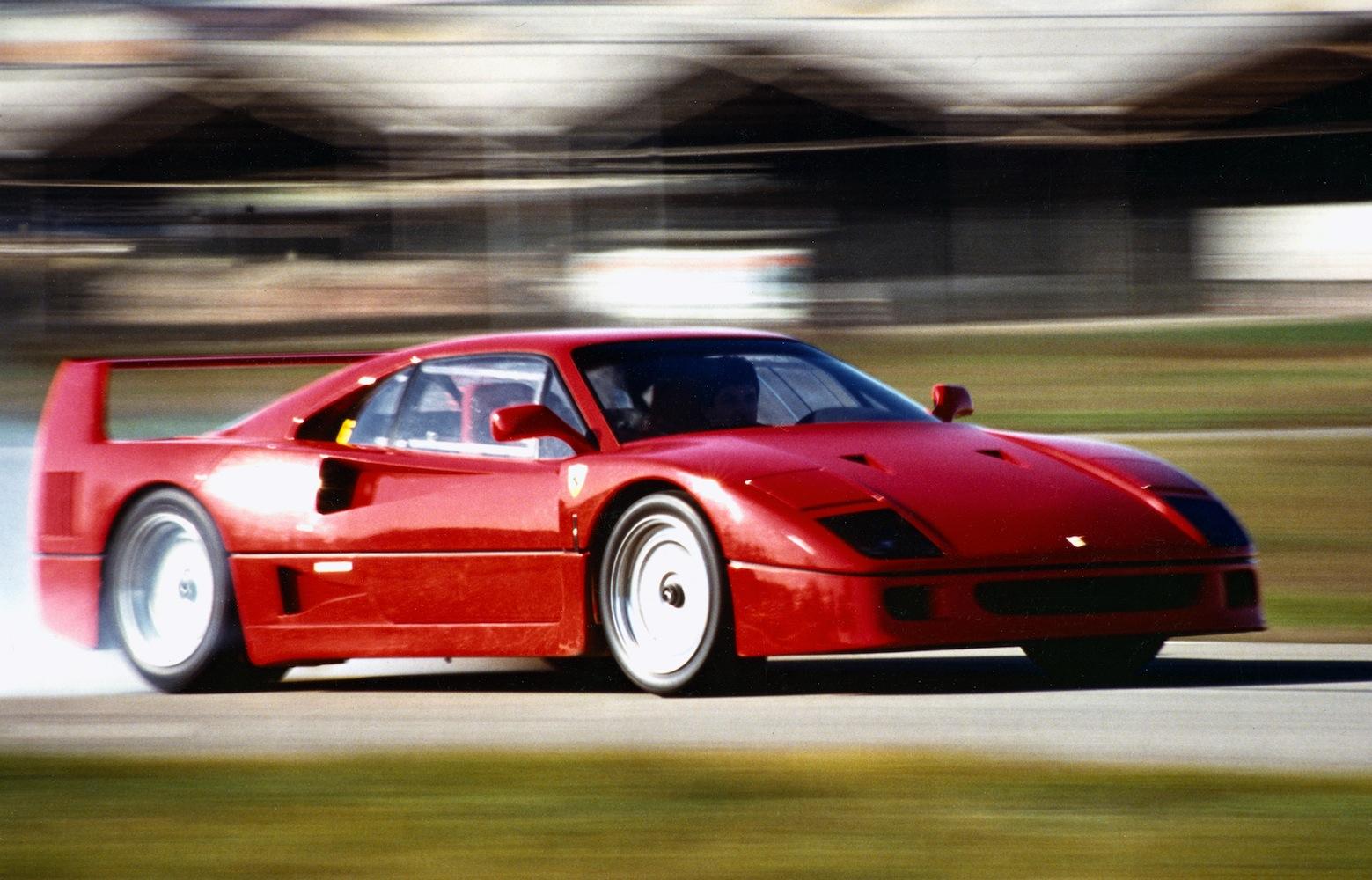 Ferrari, la F40 compie 30 anni