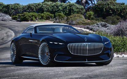 Mercedes-Maybach 6 Cabriolet: Sei metri, e sopra… il cielo