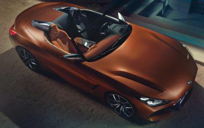 BMW Z4 Concept: svelata la nuova roadster