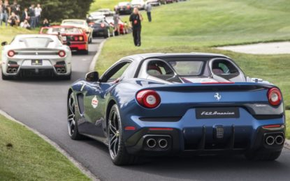 Ferrari: 70 anni in passerella a Pebble Beach